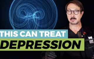 treat depression with Pulsed Magnetic Field Therapy